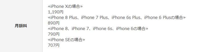 au:AppleCare+ & au端末サポート